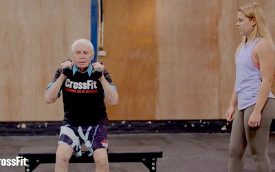94-Year-Old Embraces CrossFit, Healthy Living